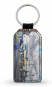 saltergate going to the match PU Leather Keyring Printed Both Sides (2)